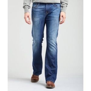 7 for all mankind men bootcut jeans size 30